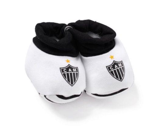 Meia Pantufa Bebê Atlético MG Oficial