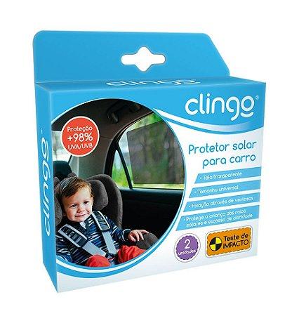 Película Protetora Solar Para Carro Com Ventosa Clingo