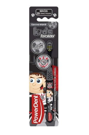 Escova Dental Torcedor Corinthians Kids Power Dent