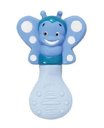 Mordedor Bebê Abelha Azul Vila Toy