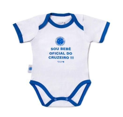 """Body Cruzeiro """"Bebê Oficial"""" Revedor"""