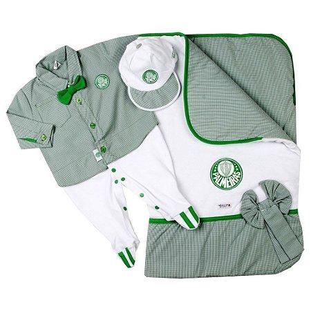 Kit Maternidade Palmeiras Luxo Meninos - Cia Bebê  bd2c1303bbab2