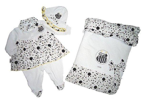 Kit Maternidade Santos Luxo Meninas Revedor