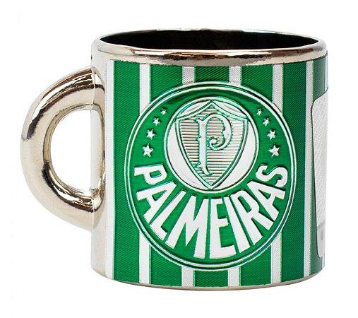 Mini Caneca Decorativa Ímã Metal 3.5cm Palmeiras