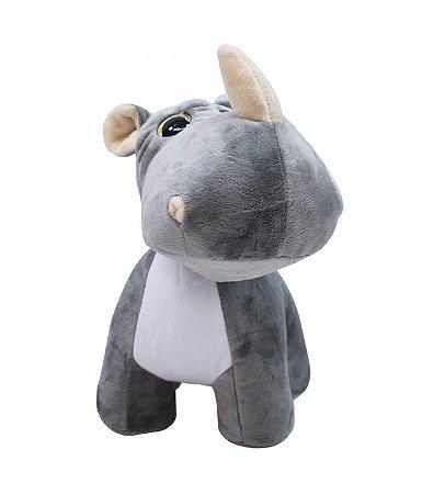 Pelúcia Rinoceronte Sentado 28 cm