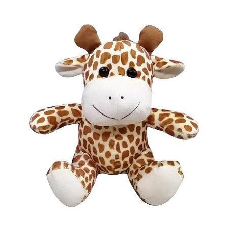 Pelúcia Girafa Sentada 28 cm