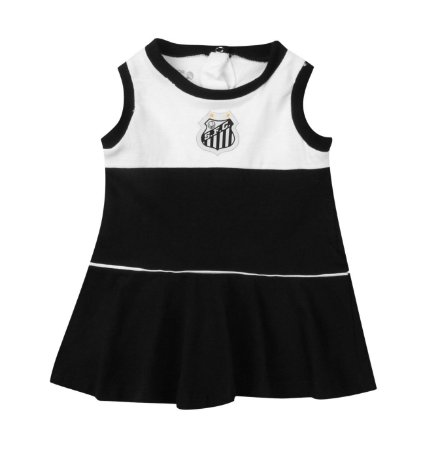 Vestido Bebê_Infantil Santos Regata Oficial