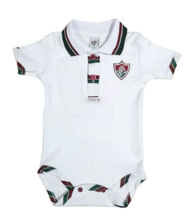 Body Fluminense Polo Manga Curta Oficial