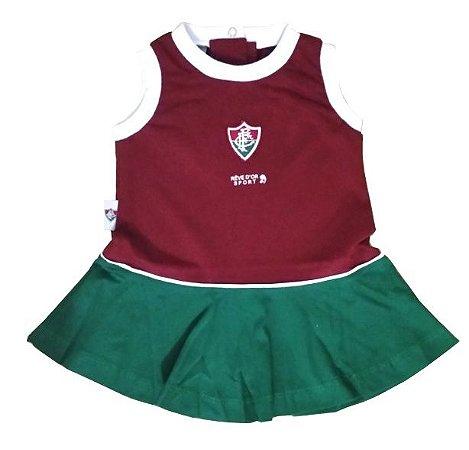 Vestido Bebê Regata Fluminense Revedor