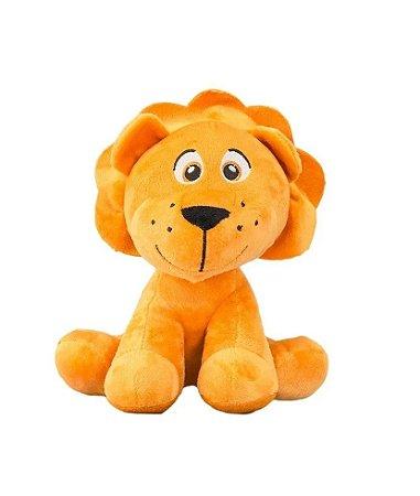 Pelúcia Leãozinho Sentado Safari 25cm Unik