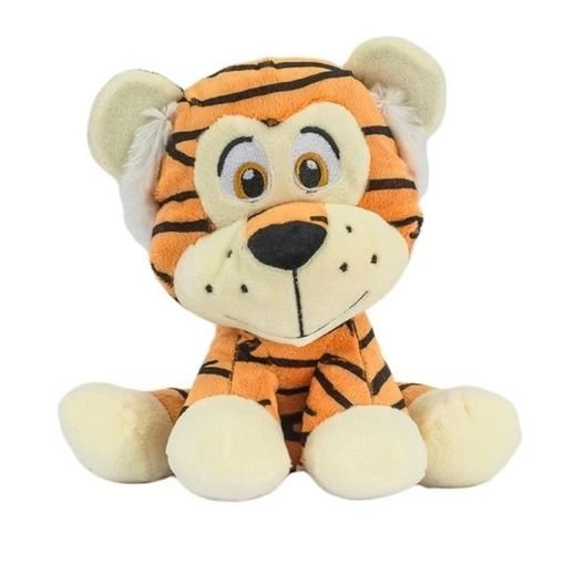Pelúcia Tigre Sentado Safari 25cm Unik