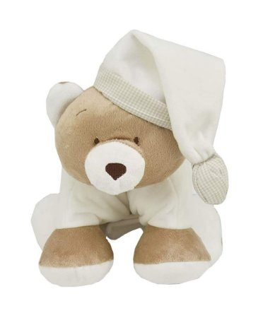 Meu 1° Puppet Urso Nino Marfim Zip