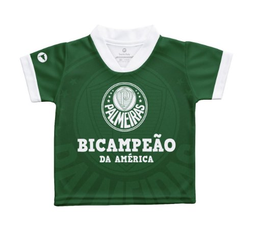 Camiseta Infantil Palmeiras Bi Campeão da América