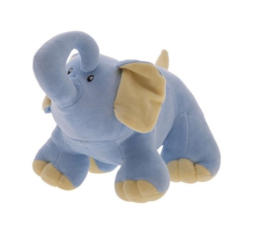 Pelúcia Elefantinho Baby Tonny Azul - Zip