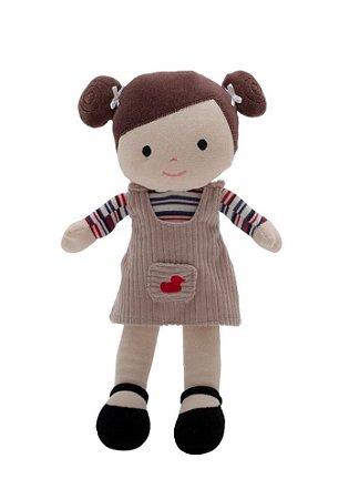 Boneca de Pano Lara 28cm - Zip