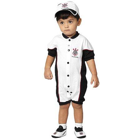 Kit Bebê Corinthians 3 Peças Torcida Baby