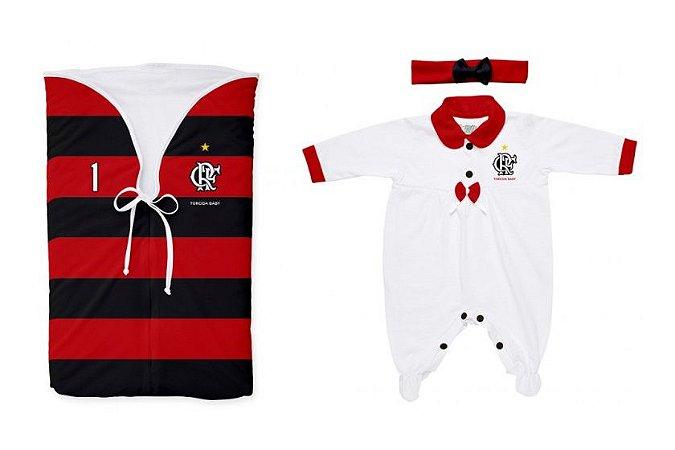 Kit Maternidade Flamengo Meninas - Torcida Baby