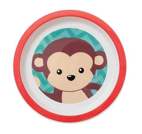 Pratinho Infantil Animal Fun Macaquinho - Buba