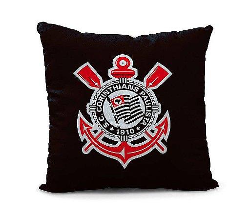 Almofada Corinthians Meu Coração 45cm Oficial