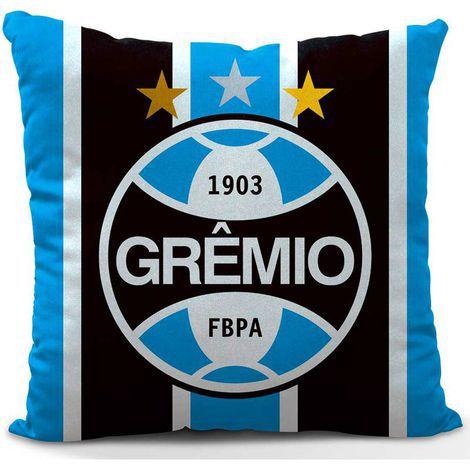 Almofada Grêmio Bicampeão da América 45cm Oficial