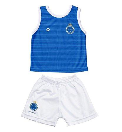 Conjunto Cruzeiro Bebê Regata - Torcida Baby