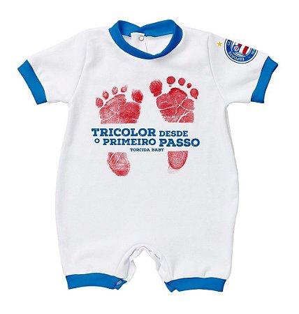 Macacão Bebê Bahia Primeiro Passo - Torcida Baby