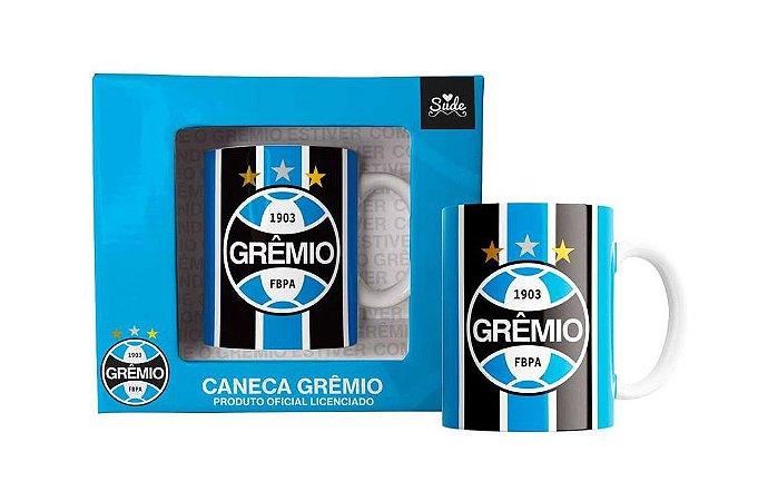 Caneca Grêmio Campeão Bicampeão 330ml Oficial
