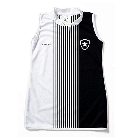 Vestido Infantil Botafogo Tubinho - Torcida Baby