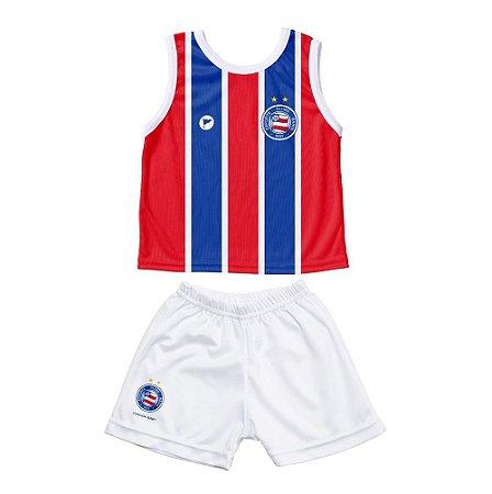 Conjunto Bahia Bebê Regata - Torcida Baby