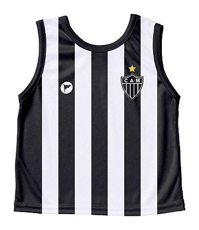 Camiseta Bebê Regata Atlético MG - Torcida Baby