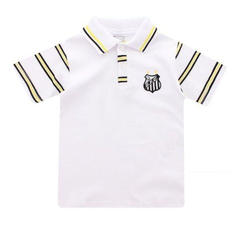 Camisa Polo Infantil Santos MO Revedor