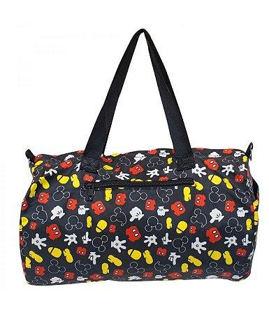 Bolsa Viagem Academia Mickey 22x43x25cm - Disney