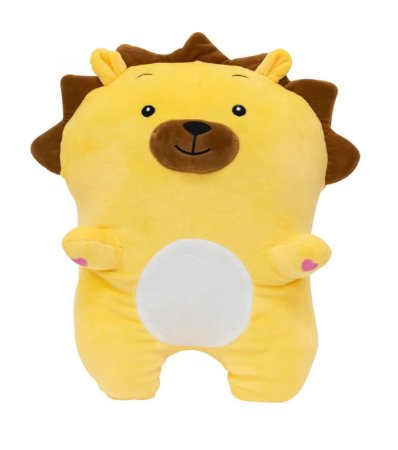 Almofada Formato Leãozinho Amarelo 36cm