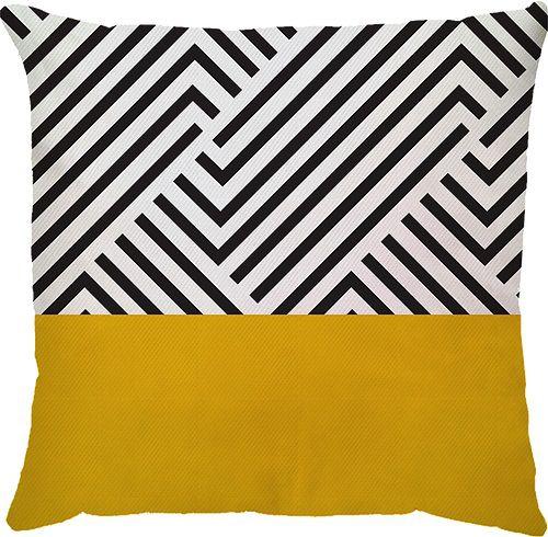 Capa Kinas Amarelo/Preto