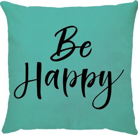 Capa Be Happy Acqua