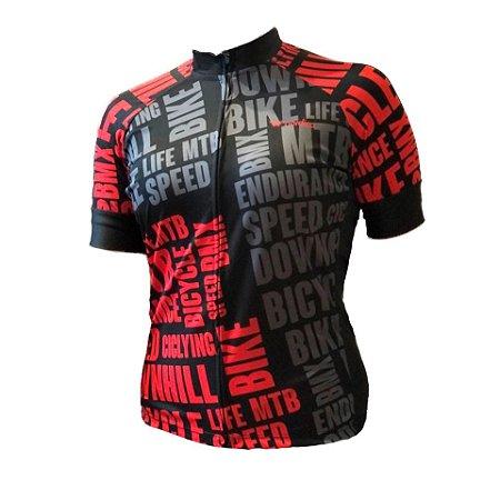 camisa ciclismo feminino Bikelove ref 1274 c1