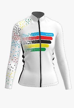 Camisa ciclismo feminino manga longa guns roses ref 1344 c2