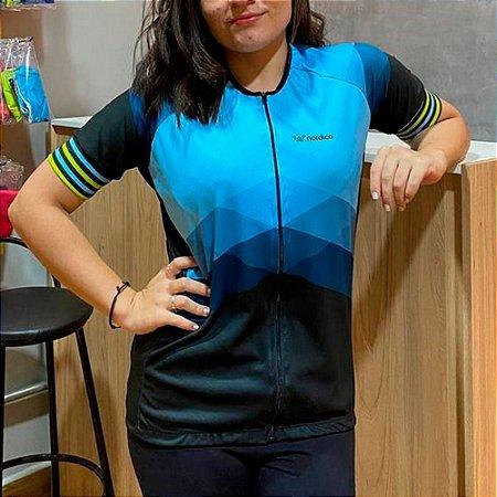 Camisa ciclismo feminino nordico aqua marine ref 1161 c1