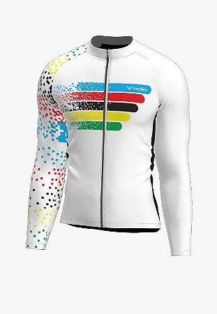Camisa ciclismo manga longa guns roses ref 1345 c8