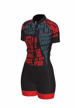 macaquinho ciclismo feminino nordico Bikelove ref 1274 m12