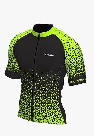 camisa ciclismo nordico nitro personalizado verde ref 1340 c6
