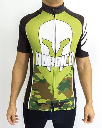 Camisa Ciclismo Nordico Camuflada