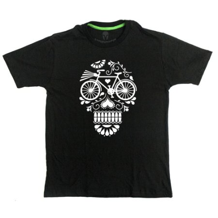 Camiseta Caveira Bike