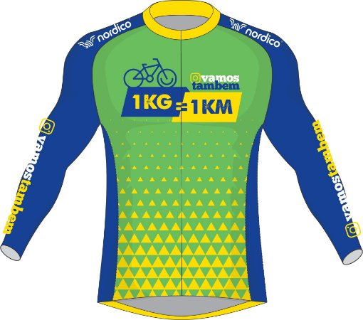 camisa ciclismo nordico vamos também ref p9000
