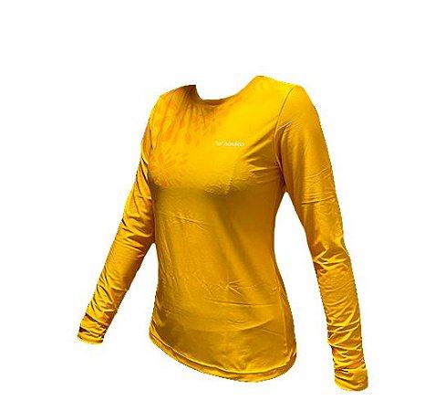 Camisa manga longa segunda pele proteção uv nordico solar 1360