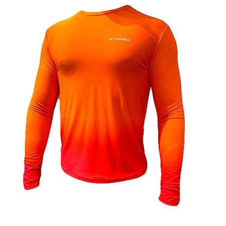 Camisa manga longa segunda pele proteção uv nordico Forseti 1367