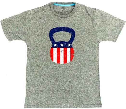 camiseta nordico Kettlebell