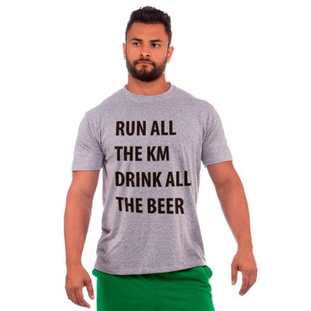 camiseta nordico run all the km drink all the beer