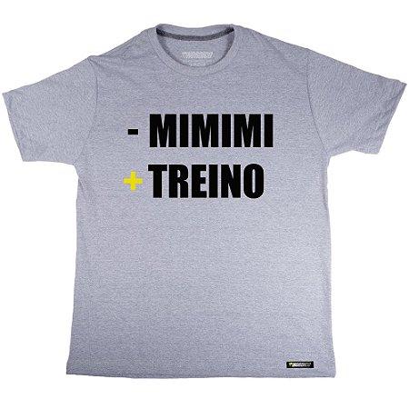 camiseta nordico menos mimimi e mais treino