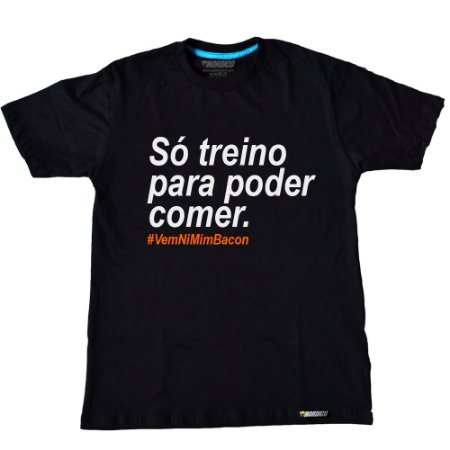camiseta nordico só treino para poder comer c56